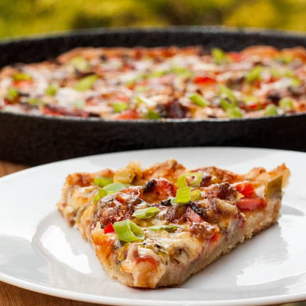 Thin Crust Pizza