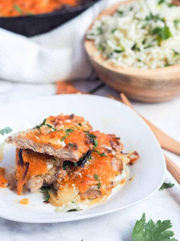 4 Ingredient Oven Baked Pork Chops Recipe