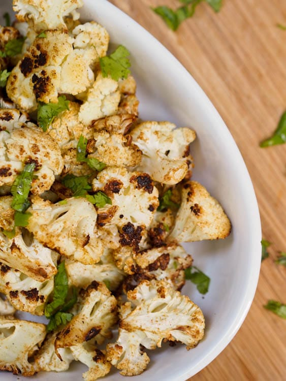 Cumin-and-Coriander-Oven-Roasted-Cauliflower-Recipe