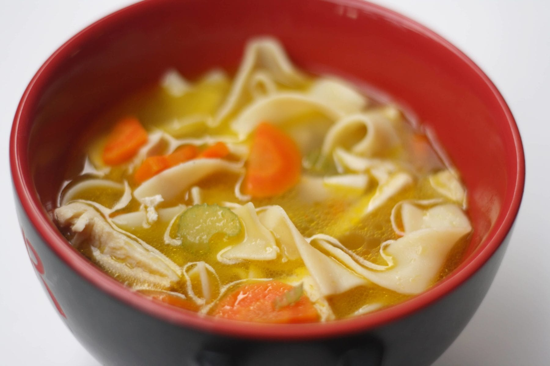 Appetizing Homemade Chicken Noodle Soup Recipe