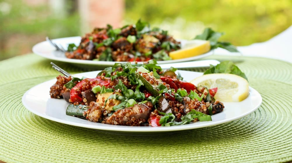 Daring Cooks April 2012 – Quinoa with Grilled Vegetables