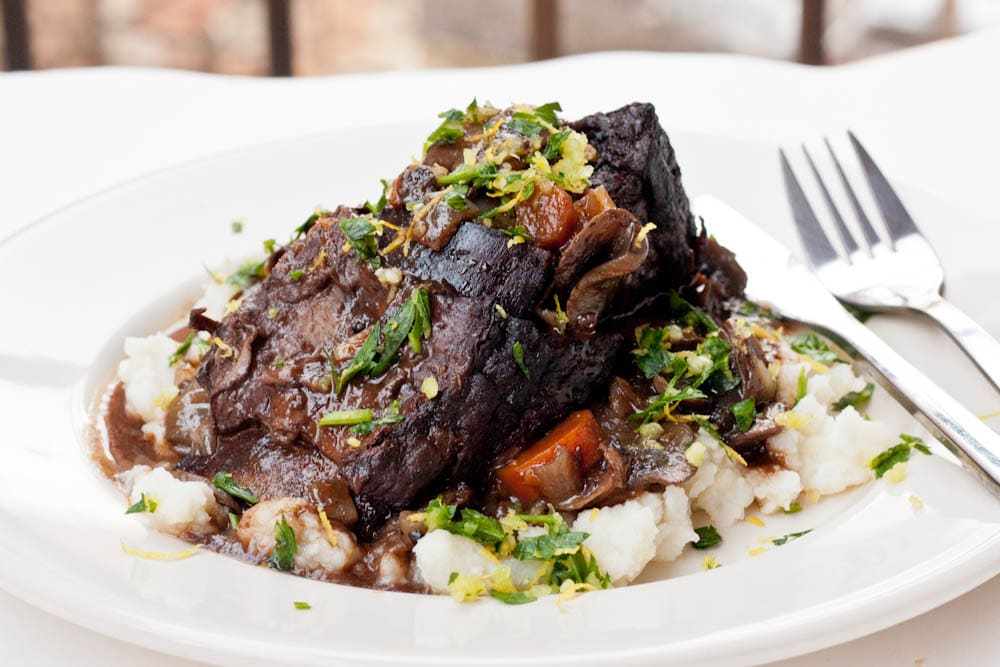 Daring Cooks Beef Short Ribs