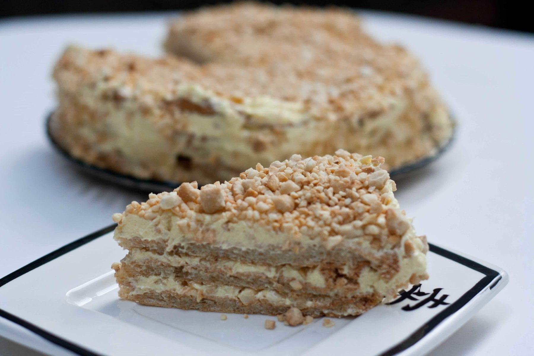 Daring Bakers November 2011 – Sans Rival Cake