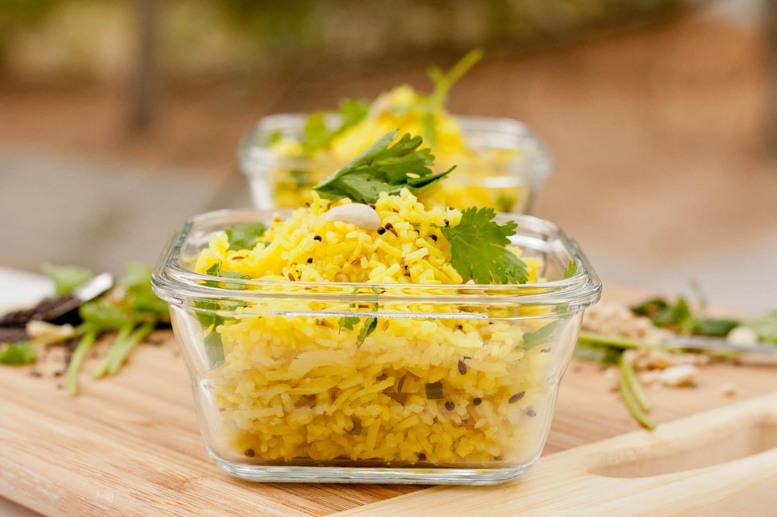 Traditional Indian Lemon Rice Recipe {Gluten-Free, Vegan}