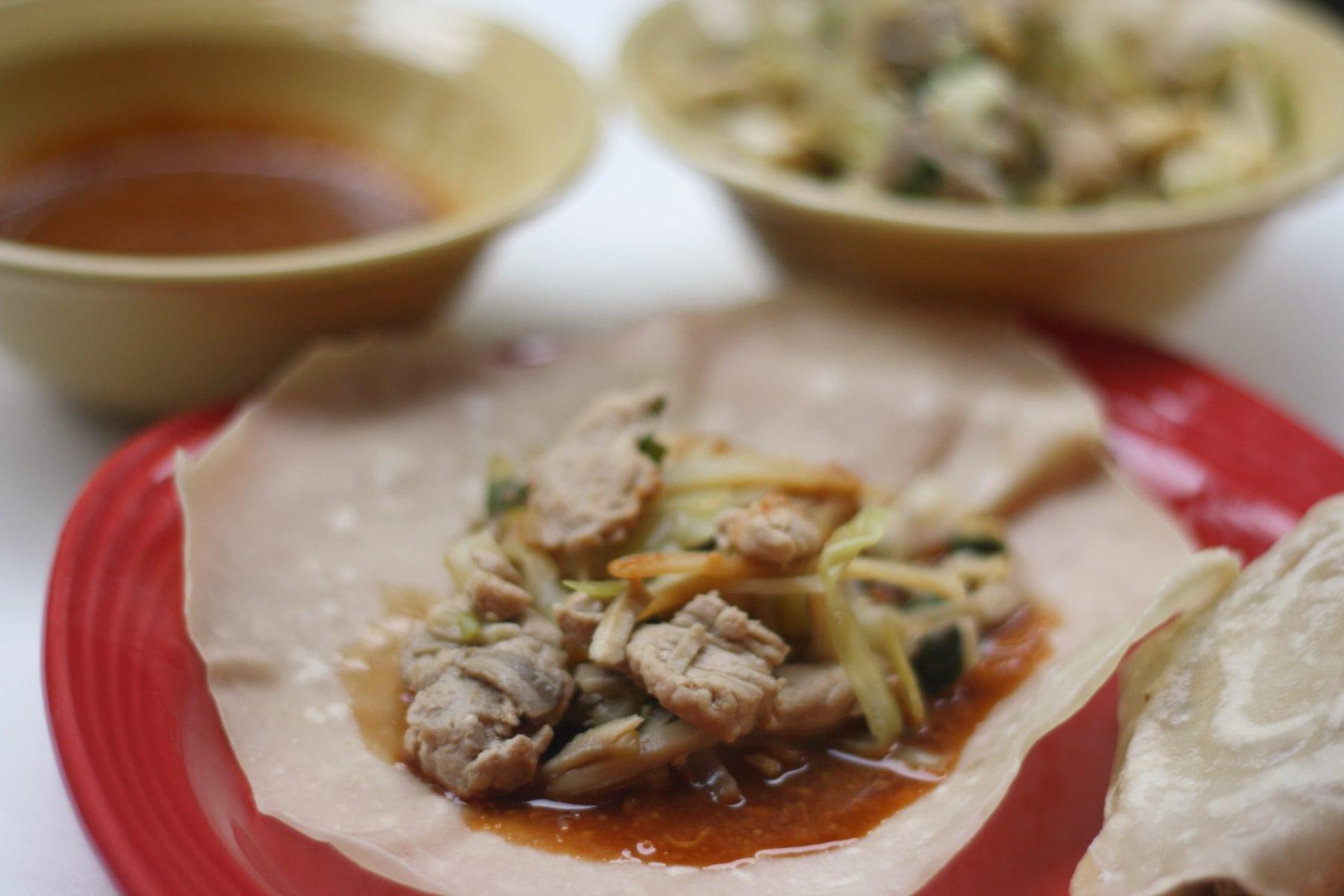 Daring Cooks – October 2011 – Moo Shu