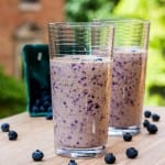blueberry banana apple smoothie