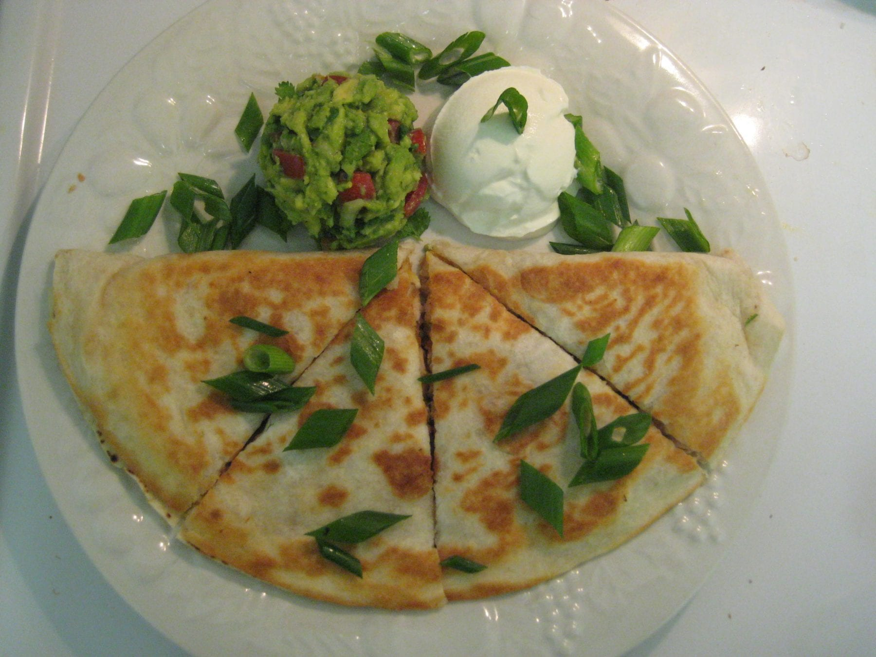 chicken quesadillas