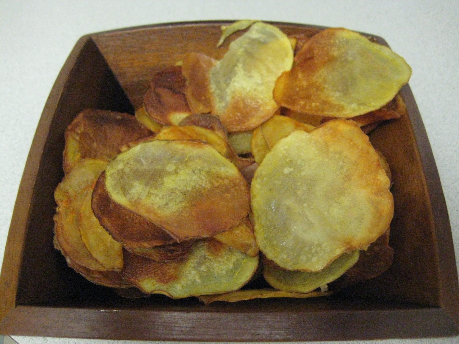 Homemade Potato Chips {Gluten-Free, Vegan}