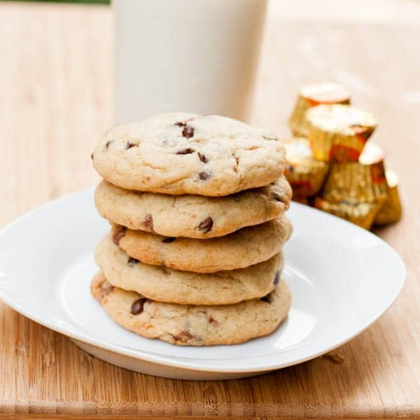 reeses chocolate chip cookies