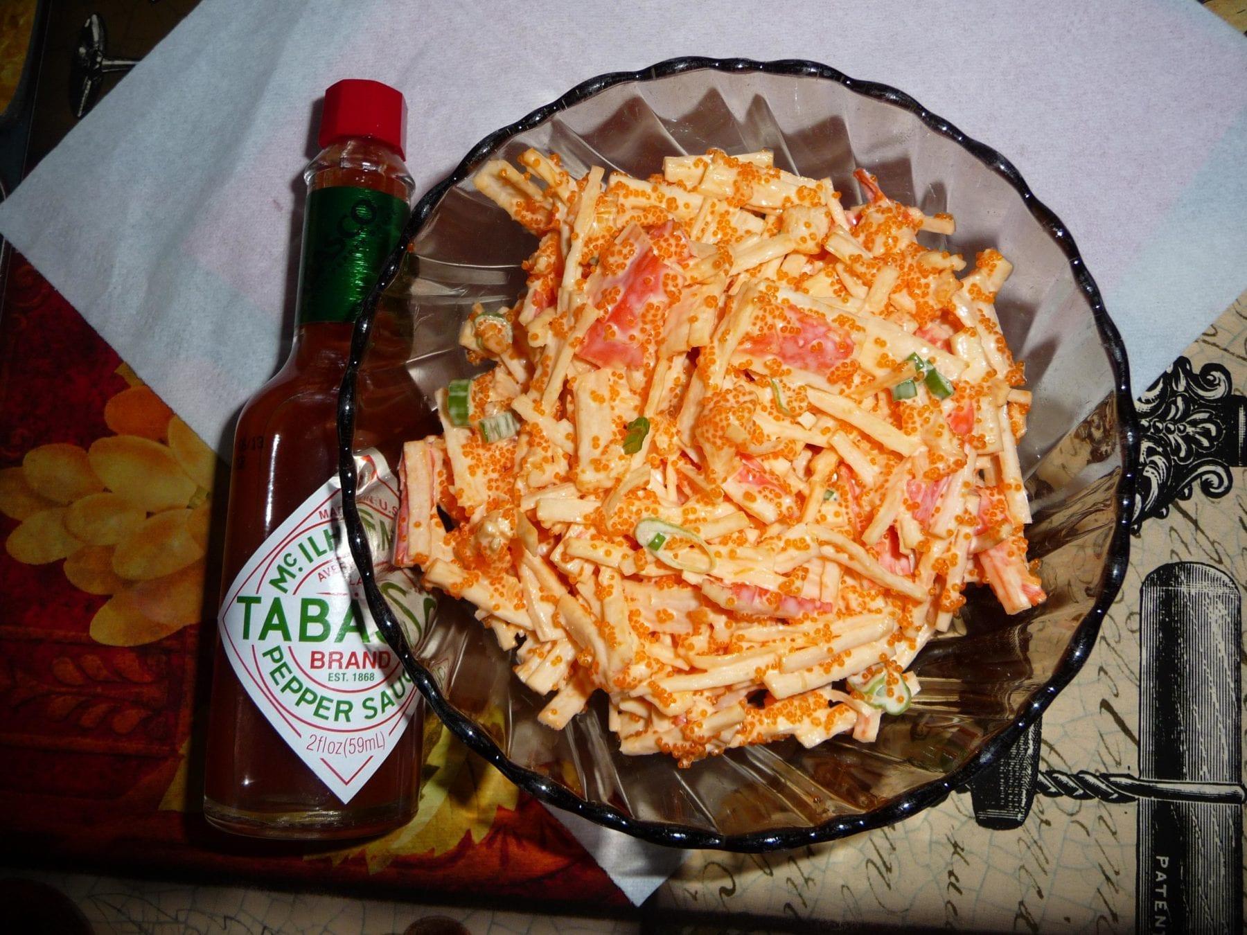 Seafood Salad {Gluten-Free, Dairy-Free}