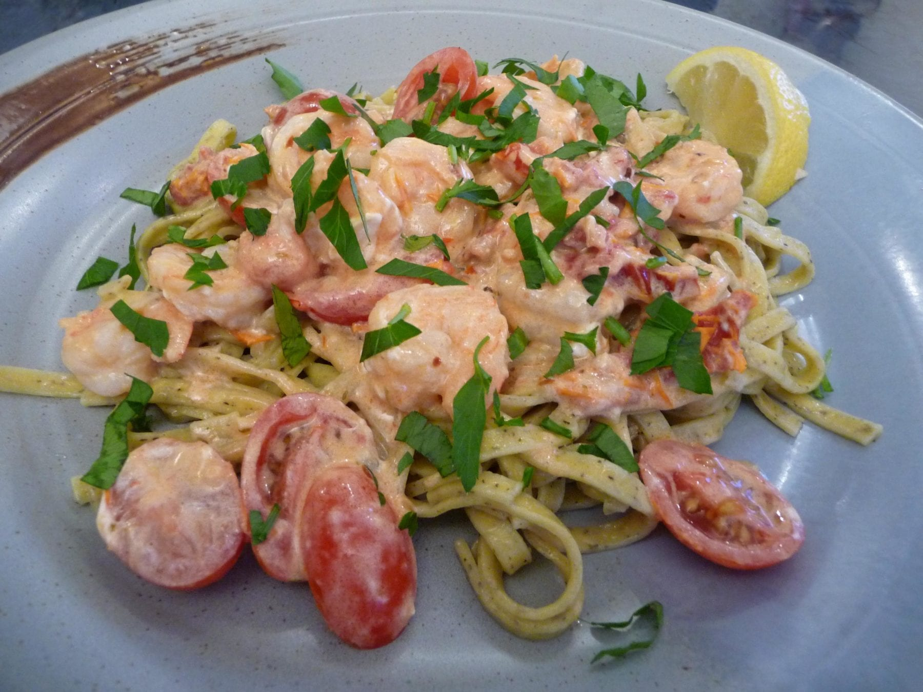 shrimp-goat-cheese-pasta