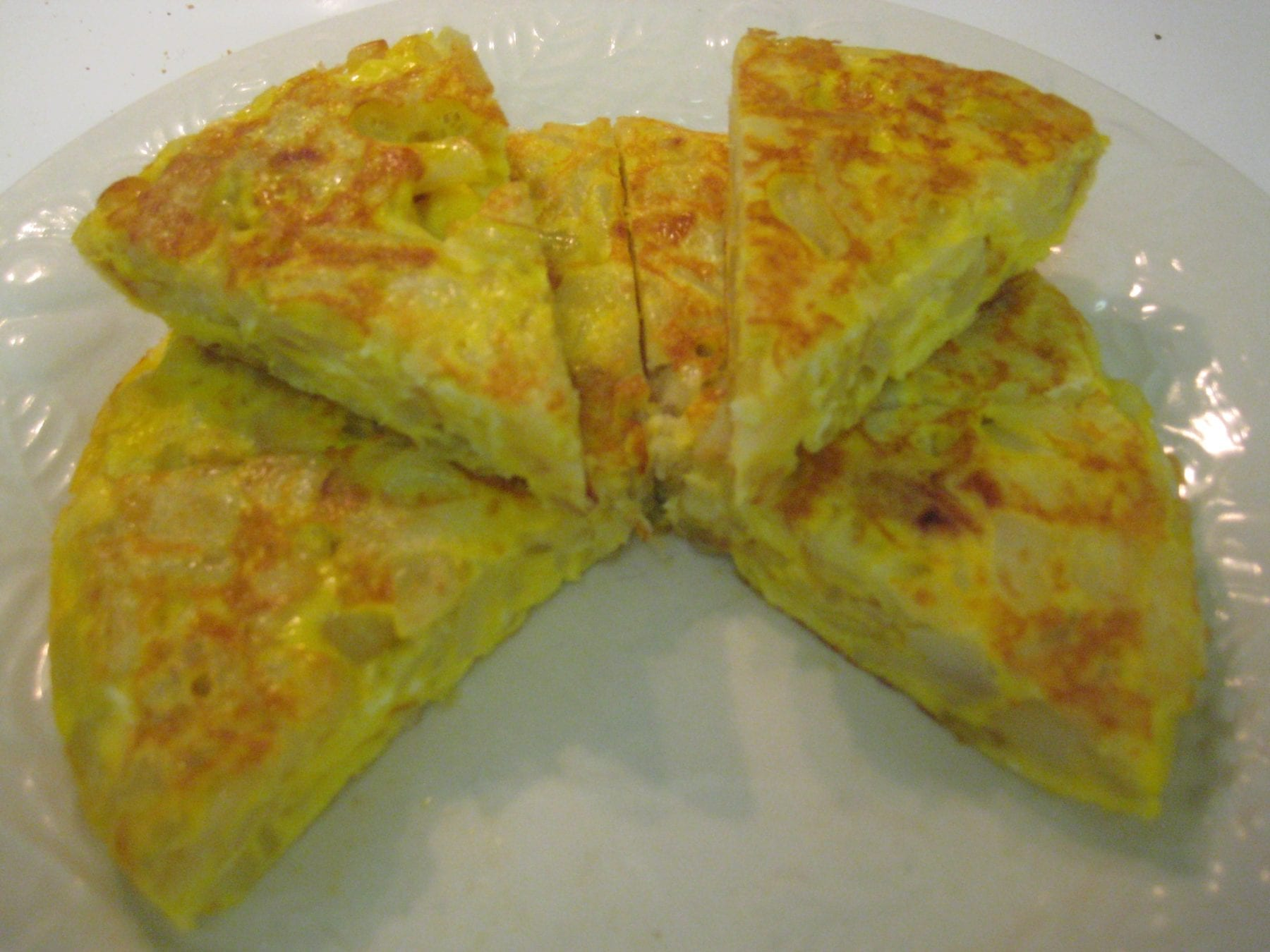 So I made a La Tortilla de Espana (Spanish Tortilla) this morning for ...