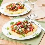 Polenta with Oven Roasted Vegetables