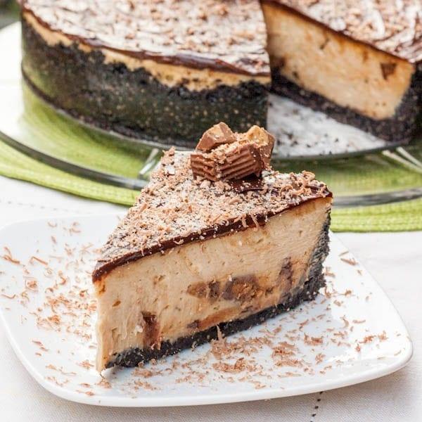 Oreo Crust Reeses Peanut Butter Cheesecake Recipe