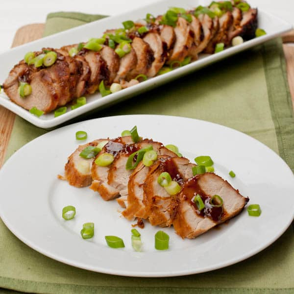 Asian Marinated Pork Tenderloin