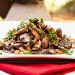 Mushroom Saute