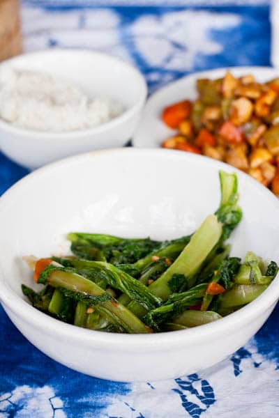 Stir Fried Green Vegetables