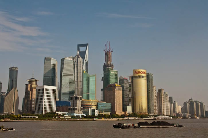 Shanghai skyline 