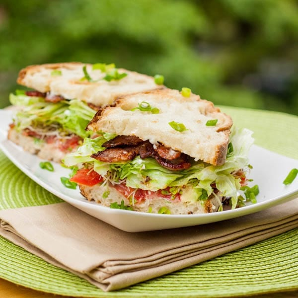 blt with avocado and alfalfa sprouts