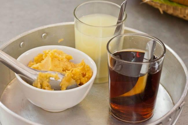 palm sugar lime juice and fish sauce