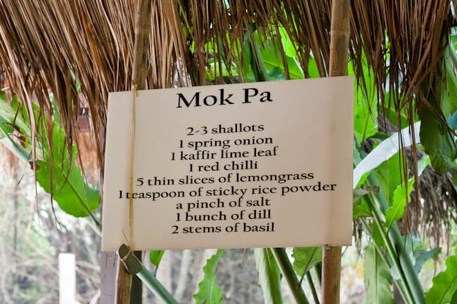 Fish Steamed in Banana Leaves - Mok Pa Recipe {Gluten-Free, Dairy-Free}