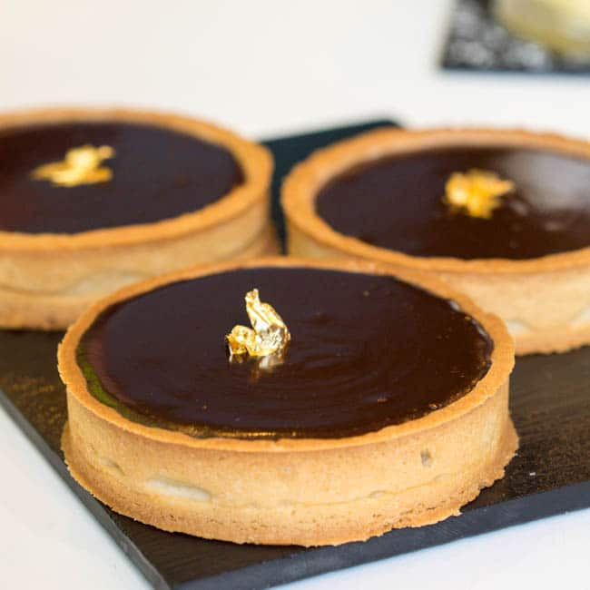 Chocolate Tarts Recipe — Dishmaps