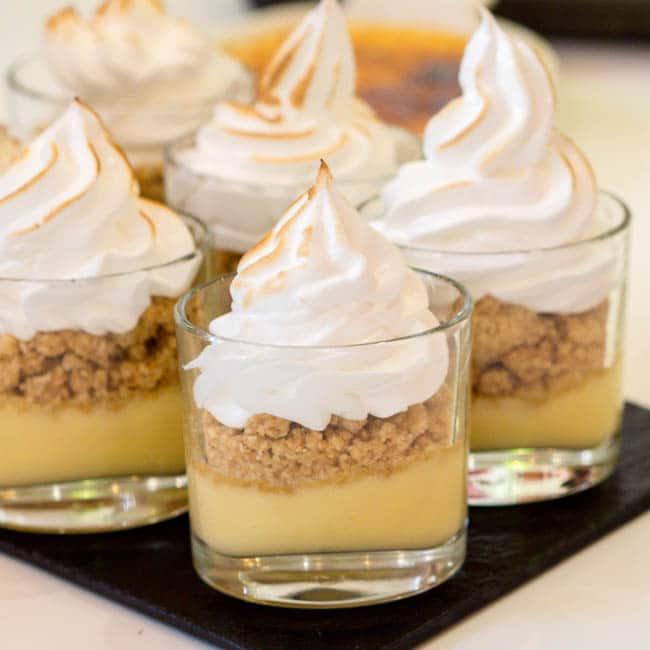 Creamy Deconstructed Lemon Meringue Pie Recipe