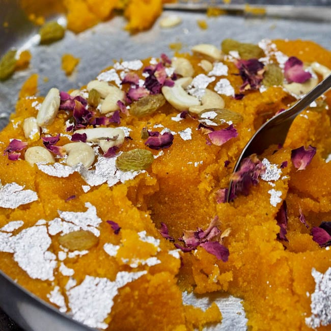 Rava Kesari Recipe With Cashews And Raisins Vegan