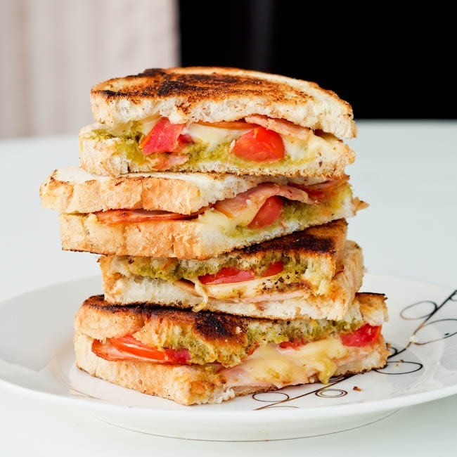 turkey-pesto-panini