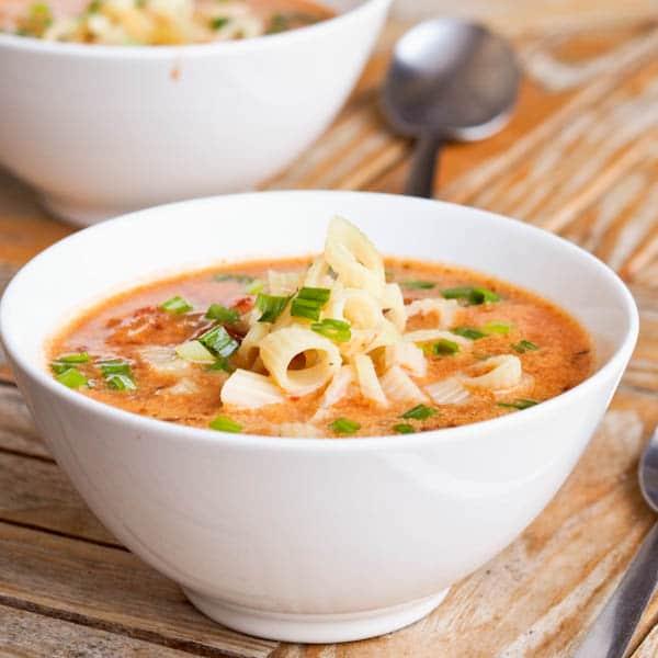 Creamy Vegan Tomato Soup Recipe