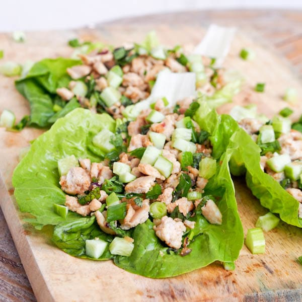 This Asian Chicken Lettuce Wraps recipe is full of flavors from fresh ...