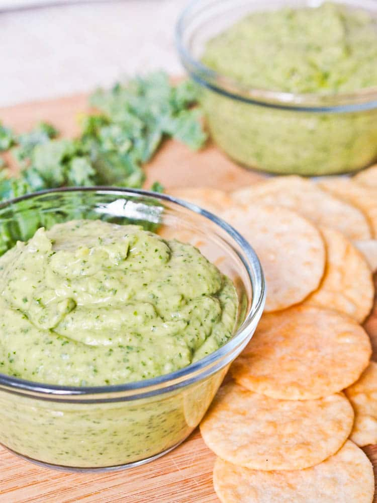 hearty and flavorful kale and white bean dip recipe that comes ...