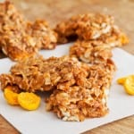 Gluten Free Golden Berry Granola Bars