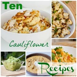 10 Cauliflower Recipes FI