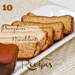 10 Fall Pumpkin Breakfast Recipes
