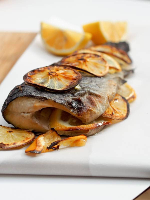 Four ingredient oven baked trout gluten free dairy free for Recipes with minimal ingredients