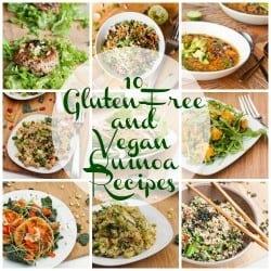 10 Gluten Free and Vegan Quinoa Recipes