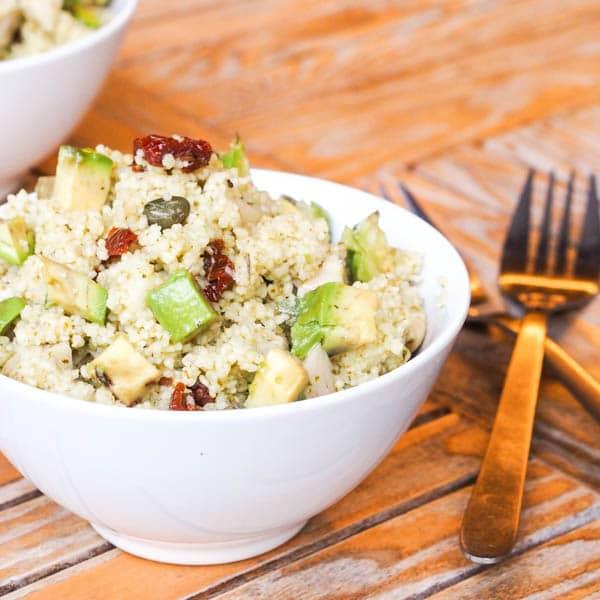 15 Minute Vegan Couscous Recipe
