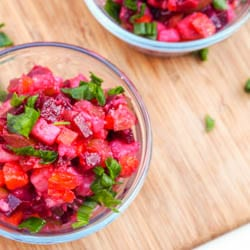 Vinegret – Russian Beet and Potato Salad {Gluten-Free, Vegan}