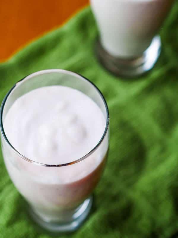 Vegan Taro Smoothie {Gluten-Free}