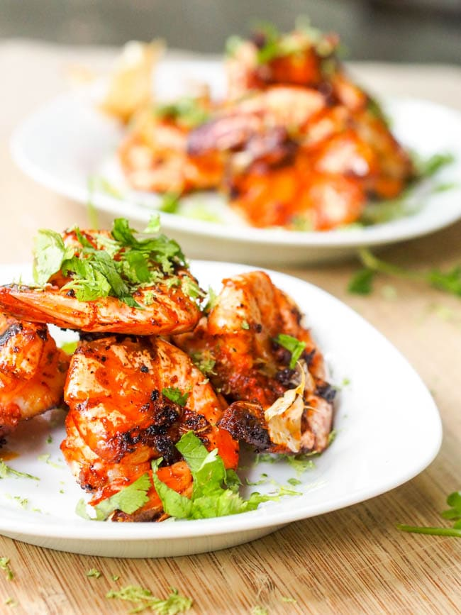 Spiced Shrimp With Paprika Mayonnaise Recipe — Dishmaps