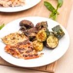 Broiled Pesto Mayo Salmon Recipe