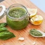 Cheesy Vegan Basil Pesto
