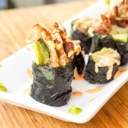 Soft Shell Crab Sushi Roll Recipe {Gluten-Free, Dairy-Free}