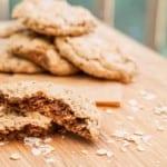 Gluten Free Oatmeal Almond Butter Coconut Cookies