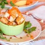 Patatas Bravas with Vegan Spicy Tomato Aioli