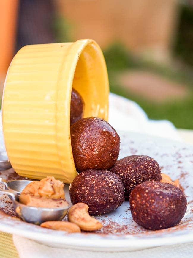 Peanut Butter Honey Truffles Recipe — Dishmaps