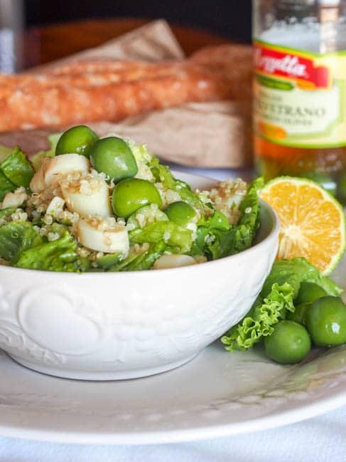 Vegan Olive Quinoa Salad