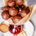 Vegan Energy Balls with Chocolate