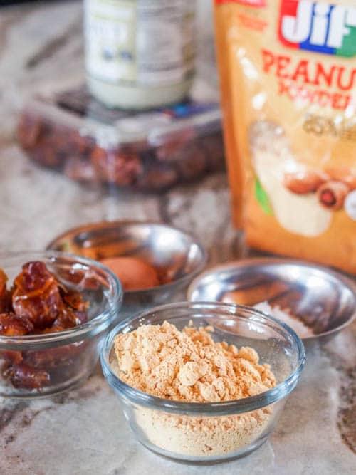Vegan Peanut Date Energy Bites